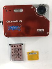 Olympus Waterproof Under Water X-560WP 12MP Digital Camera - Red  / No Charger