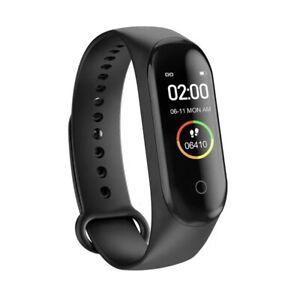 Smart Bracelet Watch Fitness Fitbit Style Kid Men Women Waterproof Steps Counter