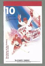 CANADA 1997 Booklet - Hockey - SERIES OF THE CENTURY - (10 @ 45c) - Complete MNH