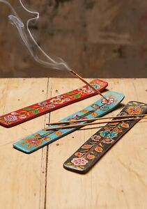 Hand Painted Wooden Ash Catcher, Fair Trade, Made in India