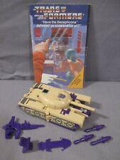 "Transformers G1 ""BLITZWING Complete Triple-Changer VINTAGE 1985"