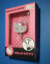 (2014)HELLO KITTY Headphones Splitter NEW SANRIO Android APPLE MP3 Player Tablet