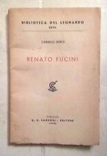 CARMELO SGROI RENATO FUCINI SANSONI 1943 BIBLIOTECA DEL LEONARDO
