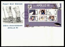 DR WHO 1994 GRENADA FDC SPACE MOON LANDING ANIV S/S  Lg37554