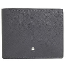 Montblanc Sartorial 6CC Wallet- Dark Grey
