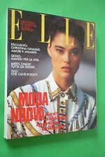 ELLE MARZO 1990 KYM HENDERSON+TOM CRUISE+ANGELA MOLINA+GIULIA FOSSA'+M. BELLUCCI