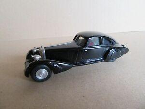 82J Idea3 Kit WM 9 Mercedes 500K W24 Autobahn Kurier 1934 Black 1:43