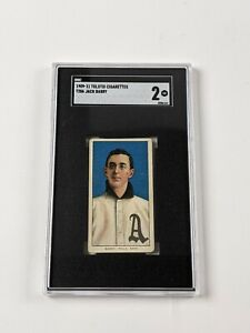 1909-11 Tolstoi Cigarettes T206 Jack Barry Baseball Card SGC