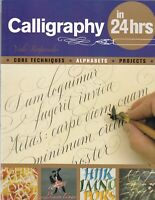 Learn Calligraphy in 24 Hours (Paperback) Book by Veiko Kespersaks