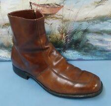 Mason Side Zipper Ankle Boots Men's 9.5D