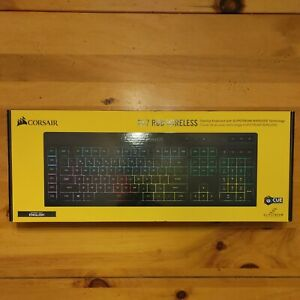 NEW Corsair K57 RGB Wireless Gaming Keyboard Black New Programmable Macro Keys