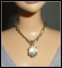 Jewelry Barbie Doll Elizabeth Taylor Faux Diamond Necklace Accessory For Diorama