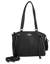 Harley-Davidson Womens Ball & Chain Adjustable/ Detachable Strap Satchel BC6503L