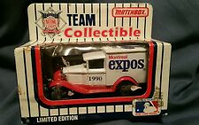1990 MATCHBOX TEAM COLLECTIBLE MLB MONTREAL EXPOS 1:64 SCALE