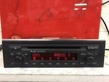 Audi A4 B6 Concert Cd PlayerCar Radio Stereo Head Unit With Code Model 8e0035186
