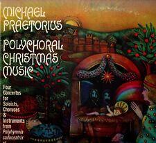 """MICHAEL PRAETORIUS """"POLYCHORAL CHIRSTMAS MUSIC"""" LP 0000 nonesuch"""