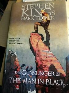 The Man in Black by Peter David, Stephen King and Robin Furth (2013, Hardcover)