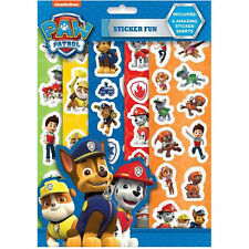 PAW PATROL STICKER FUN KIT MARSHALL CHASE AND RUBBLE FREEPOST