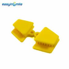 2PCS  Pedo Bite Block EASYINSMILE Autoclavable Mouth Props Silicon Rubber S size