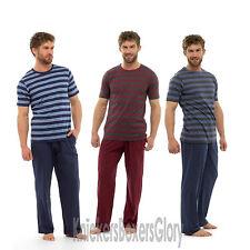 Mens Pyjamas Short Sleeve Top and Bottoms/Lounge Pants Nightwear/Loungewear NEW