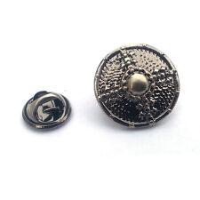 Viking Escudo Pin De Solapa Insignia nórdico Batalla recreación grupo actual Caja De Regalo