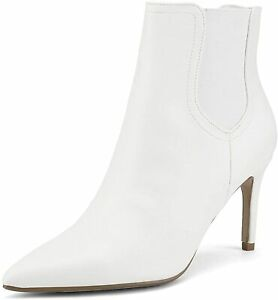 DREAM PAIRS Women's Pointed Toe Stiletto High Heel Slip On Ankle Booties