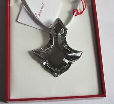 """Baccarat Silver Pampilles 2 3/4"""" Pendant 18"""" Necklace jewelry MIB 2604071"""