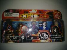 Doctor Who TIME SQUAD 5-Pack A SEALED: Pyrovile Dalek Ood Clockwork Man Sycorax