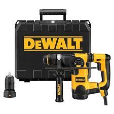 "DeWALT D25324K 1"" L-Shape SDS Plus SHOCKS Quick Change Rotary Hammer Tool Kit"