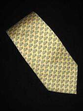 Vineyard Vines Madeira School Snails Yellow and Blue Tie