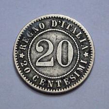 1894-K.B. (BERLIN) 20 CENTESIMI REGNO D'ITALIA KINGDOM OF ITALY UMBERTO I !