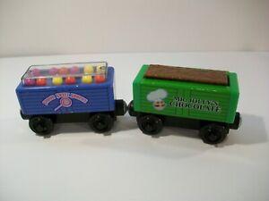 THOMAS THE TRAIN WOODEN RAILWAY SWEET SHOPPE GUMBALL CAR MR JOLLY'S CHOCOLATE