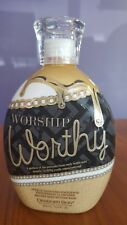 Designer Skin Worship Worthy 7X Bronzer Indoor & Outdoor Tanning Bed Lotion 13.5