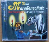 Unser Märchenschatz - Andersen - Das Feuerzeug, Däumelinchen u.a. - CD neu & OVP