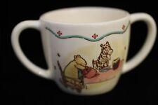 "Winnie the Pooh Baby Gift Ceramic Mug 3"" tall Charpente Disney Christopher Robin"