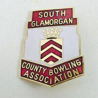 SOUTH GLAMORGAN COUNTY BOWLING ASSOCIATION BADGE