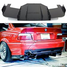 BMW E36 M3 Rear Bumper Diffuser Performance Cover Durable Aluminium Skirt
