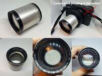 Benoist Berthiot Cinestar MC 90mm f1.8 Projection Lens +adapter for Fuji GFX,50R