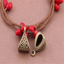 15pc bronze antique charmes pendentif cintre parachute collier connecteur Bead pl454