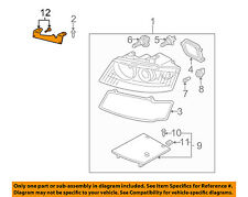 AUDI OEM A4 Headlight Head Light Lamp-Mounting Repair Bracket Right 8H0998122