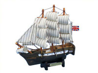 """HMS Surprise 7"""" - Master and Commander - Wooden Model Tall Ship - Boat Model"""