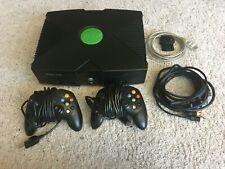 Microsoft Xbox Original Bundle with 4 games