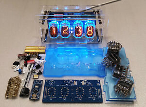 KIT for assembling Nixie clock / All parts & IN-12 tubes are included