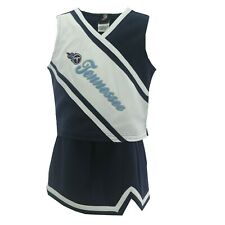 Tennessee Titans NFL Youth Kids Girls Cheerleader Outfit With Skirt New With Tag