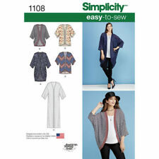 Simplicity Sewing Pattern 1108 Misses 4-26 Easy Kimonos 5 Different Styles