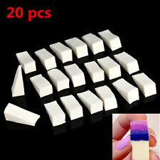 20 PCS/Pack White Makeup Blender Blending Foundation Sponge Puff JT