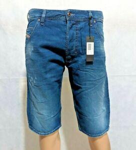 Brand new DIESEL KROSHORT R814M Mens' Denim Shorts, Cotton, Size: All Sizes
