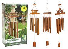 Wooden Novelty Windchimes & Mobiles