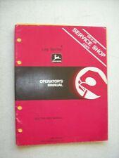 Original John Deere 4 Log Splitter 200 300 400 Series Tractors Operator Manual