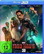 IRON MAN 3 (Robert Downey Jr.) Blu-ray 3D NEU+OVP (inkl. 2D-Fassung)